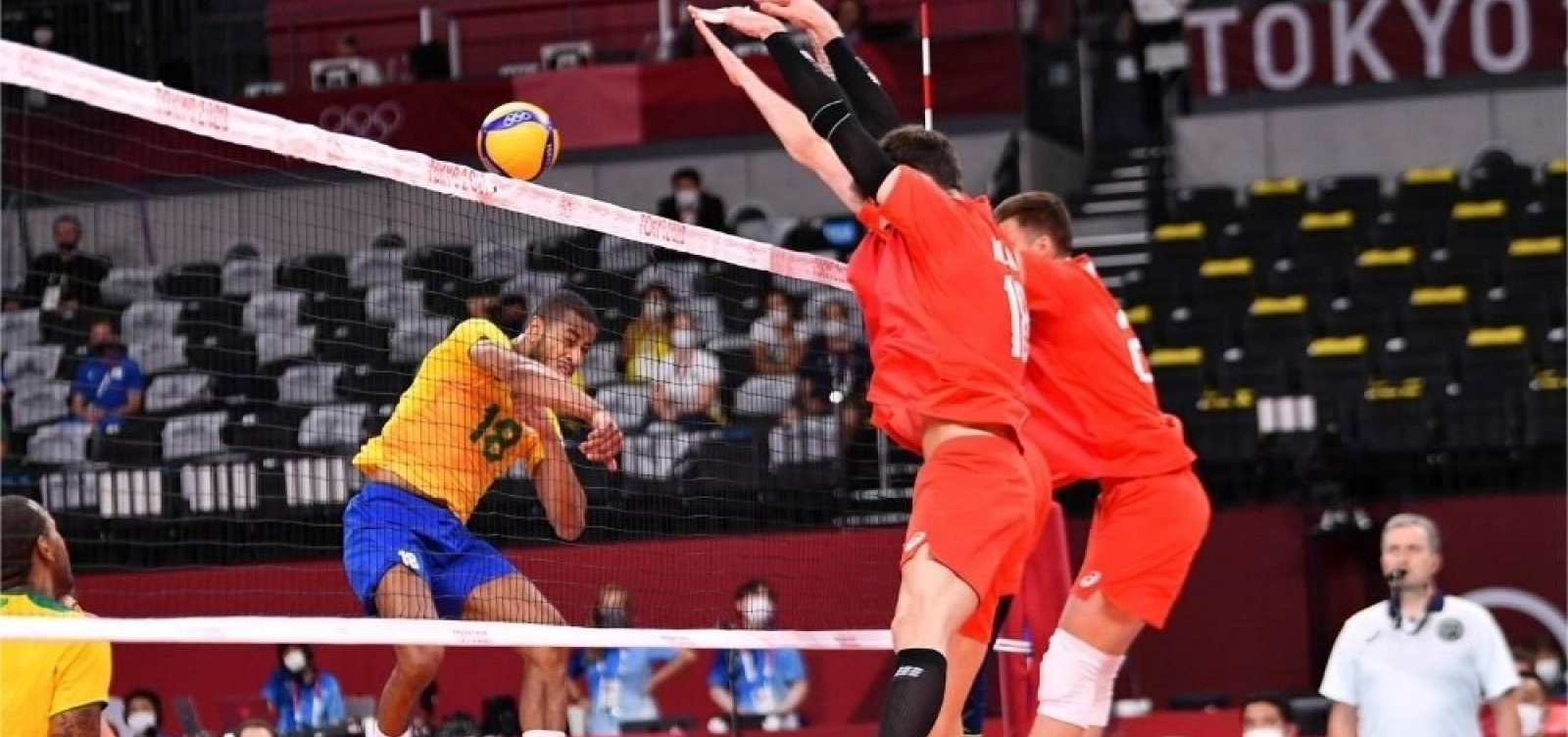 Contra Rússia, seleção masculina de vôlei tem primeira derrota nas Olimpíadas