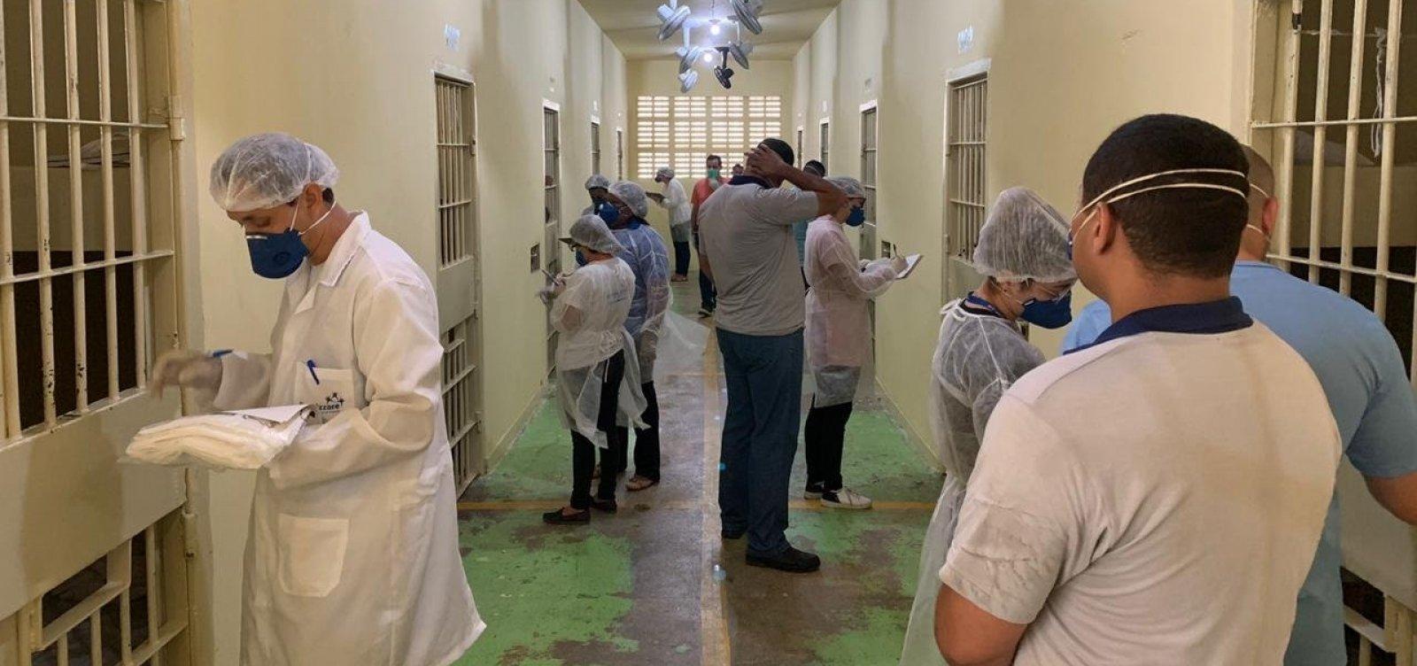 Bahia registra 19 mortes por Covid no sistema prisional e é o terceiro estado em contaminação de agentes