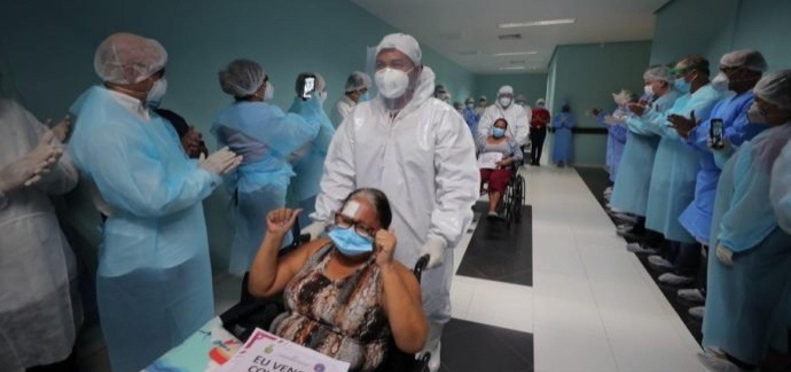 Bahia registra nesta quinta menor número de casos ativos de coronavírus desde janeiro