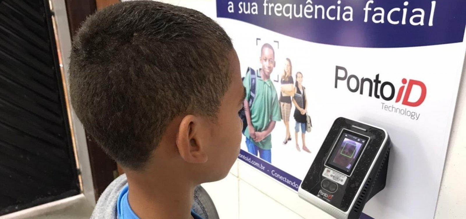 Mata de São João adota reconhecimento facial para monitorar frequência de alunos