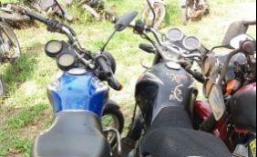 Polícia recupera três motocicletas roubadas em Alagoinhas