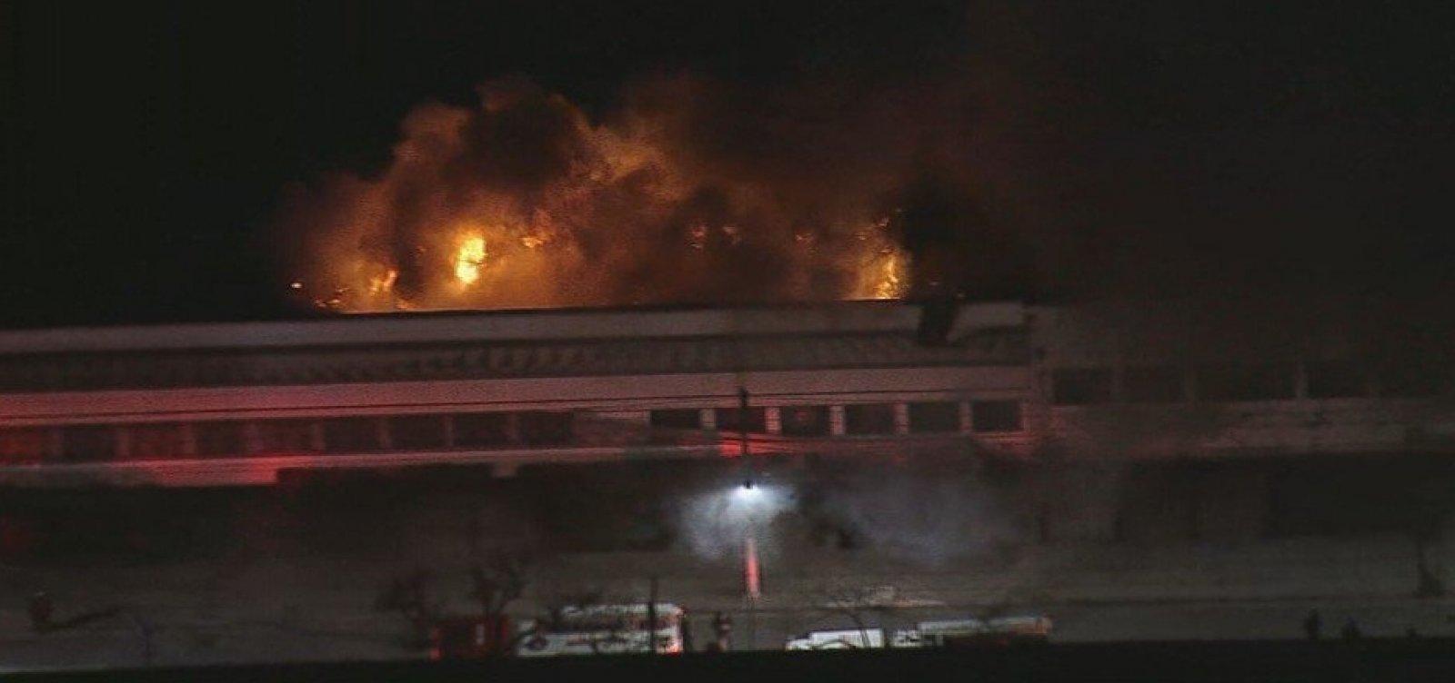 Polícia Federal assume investigação de incêndio na Cinemateca