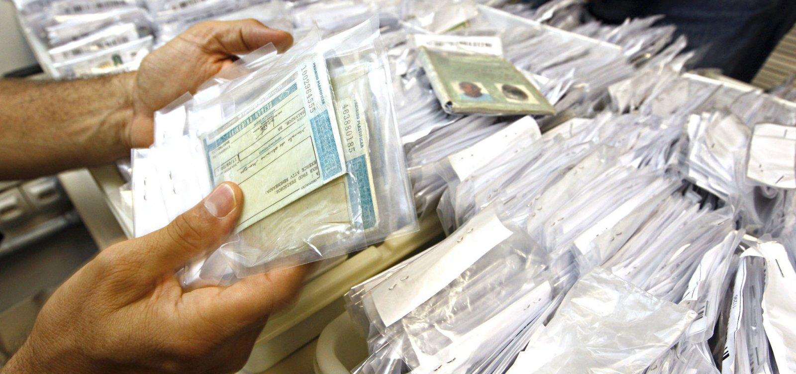 Quase 108 mil documentos estão no SAC esperando pelos solicitantes