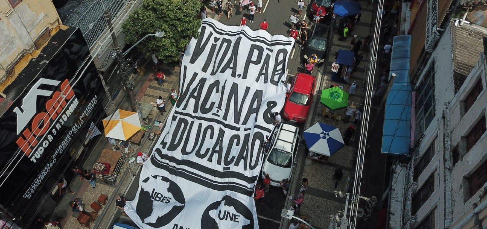 """Campanha Nacional """"Fora Bolsonaro"""" marca nova manifestação para 7 de setembro"""