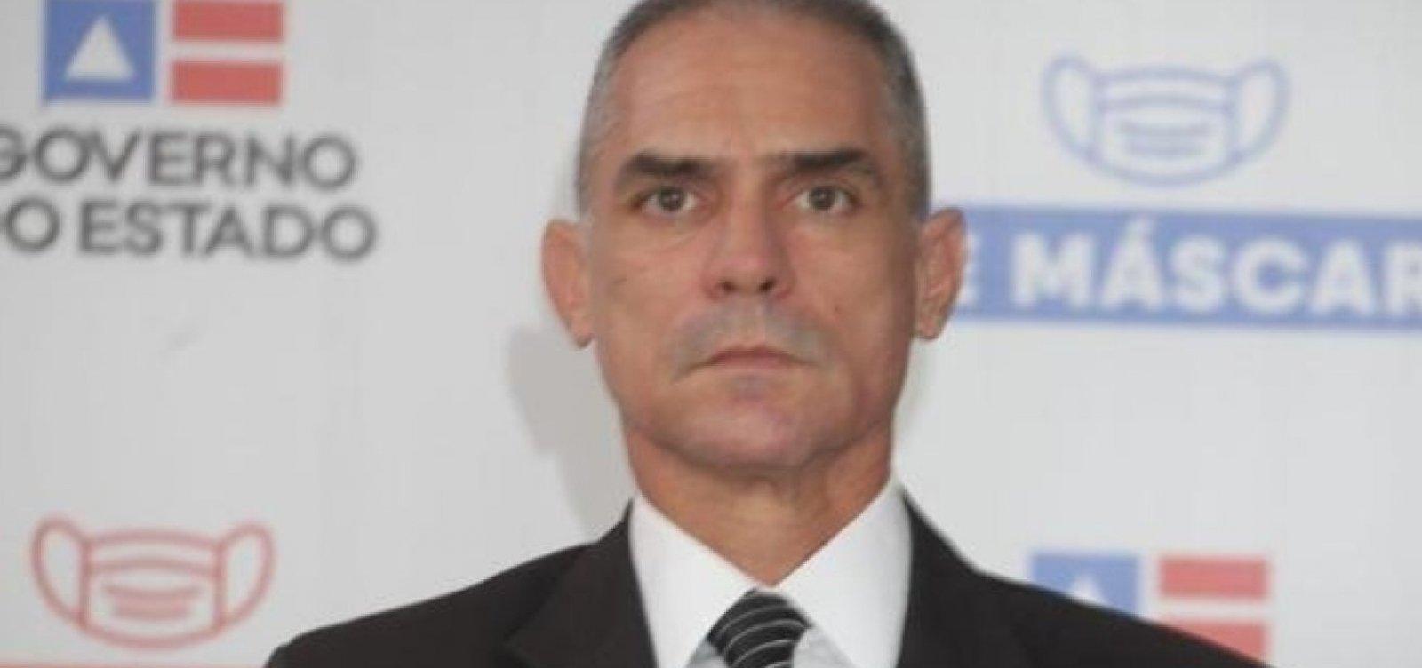 Delegado Hélio Jorge é renomeado subsecretário de Segurança Pública