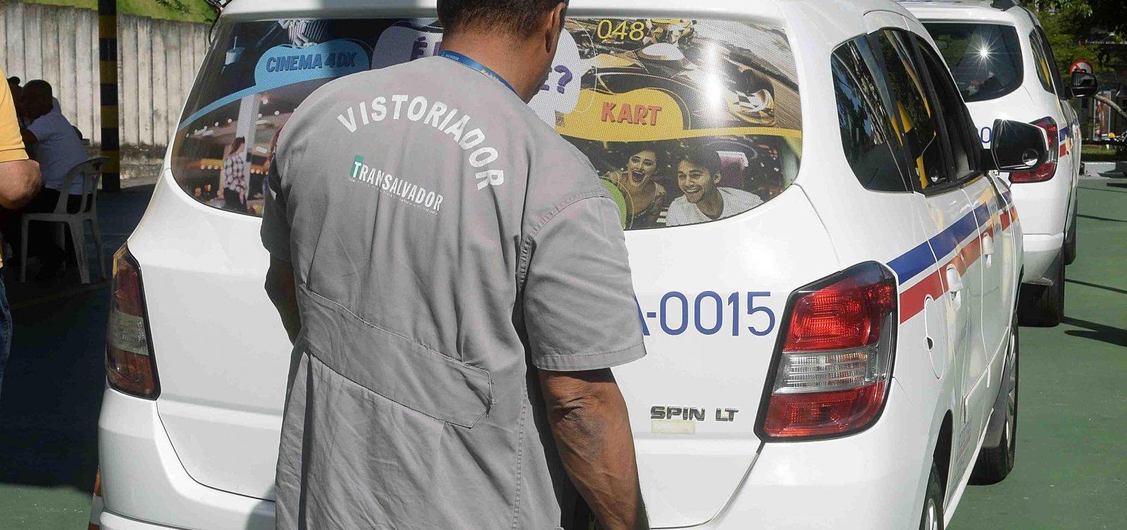 Secretaria de Mobilidade inicia vistoria de táxis nesta segunda-feira