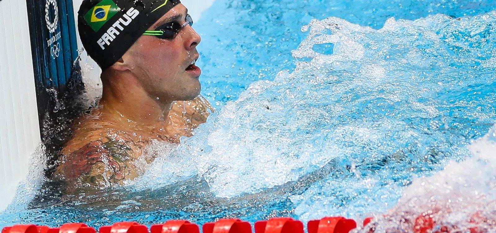 Noite nas Olimpíadas: Brasil tem bronze na natação, vitória no vôlei masculino e mais; confira