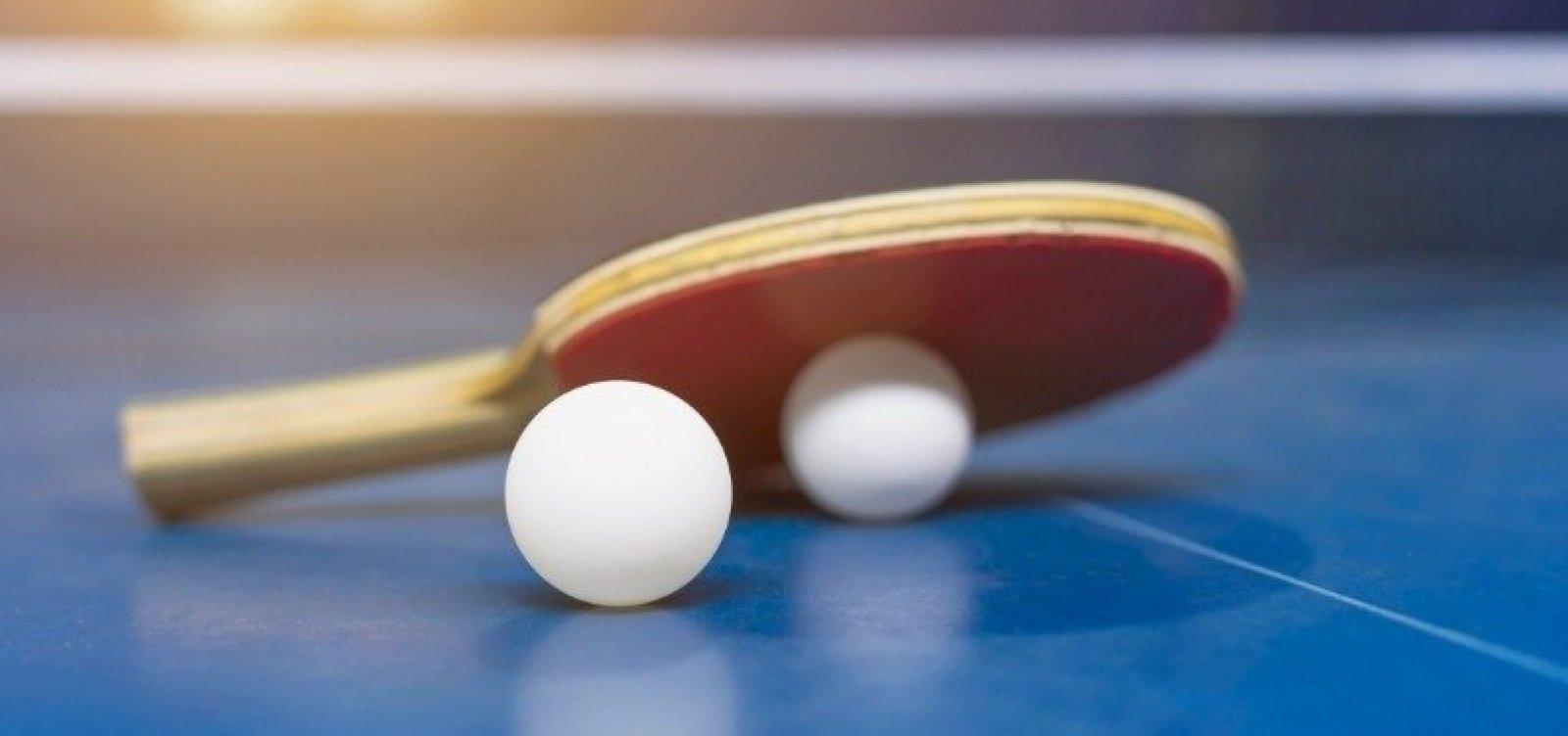 Tênis de mesa brasileiro vai às quartas de final por equipes e reforça boa fase