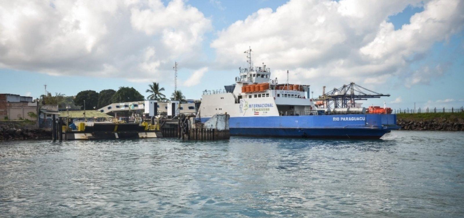 Gerador pifa e ferry tem problema para desembarcar na Ilha de Itaparica