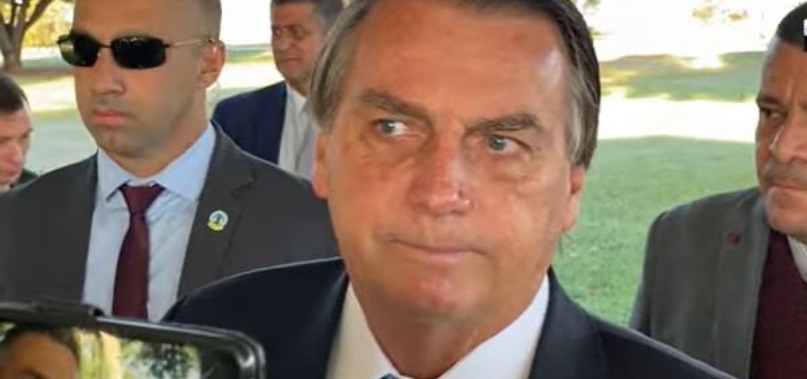 """""""Agora é crime ser rico no Brasil"""", diz Bolsonaro em crítica à proposta de taxar grandes fortunas"""