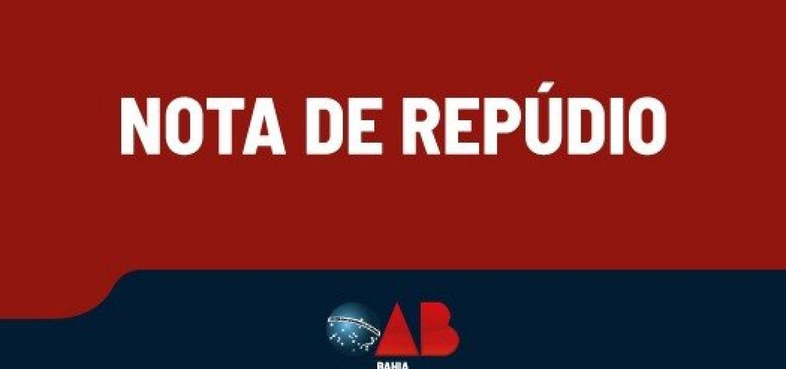 OAB-BA emite nota de repúdio às agressões de Vilas-Boas contra chef de restaurante