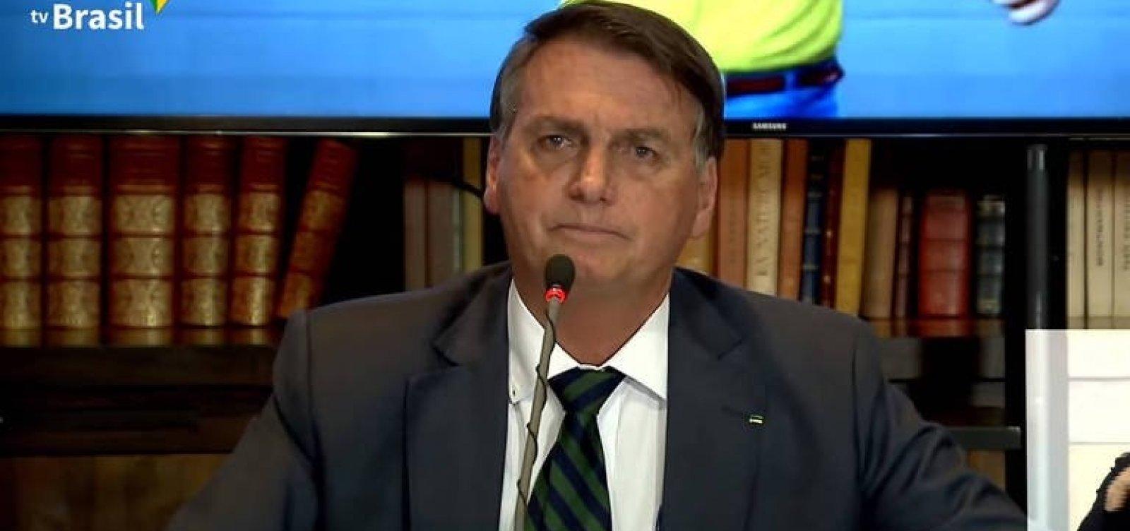 Bolsonaro diz que só toma vacina aceita na Europa e nos EUA e desdenha da Coronavac
