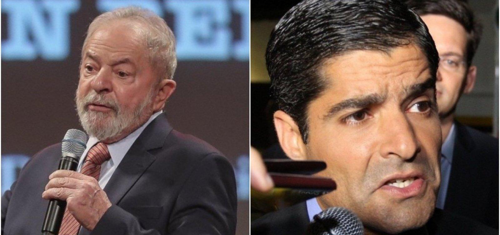"""Colunista diz que Lula tenta conversa com ACM Neto, que já ameaçou """"surrá-lo"""" no passado"""
