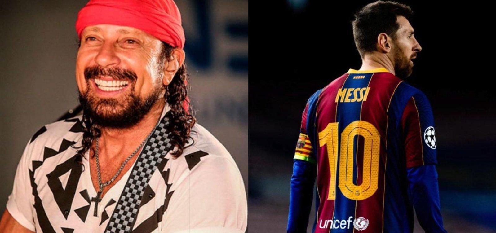 Maior rompimento desde Bell fora do Chiclete, Barcelona anuncia saída de Messi
