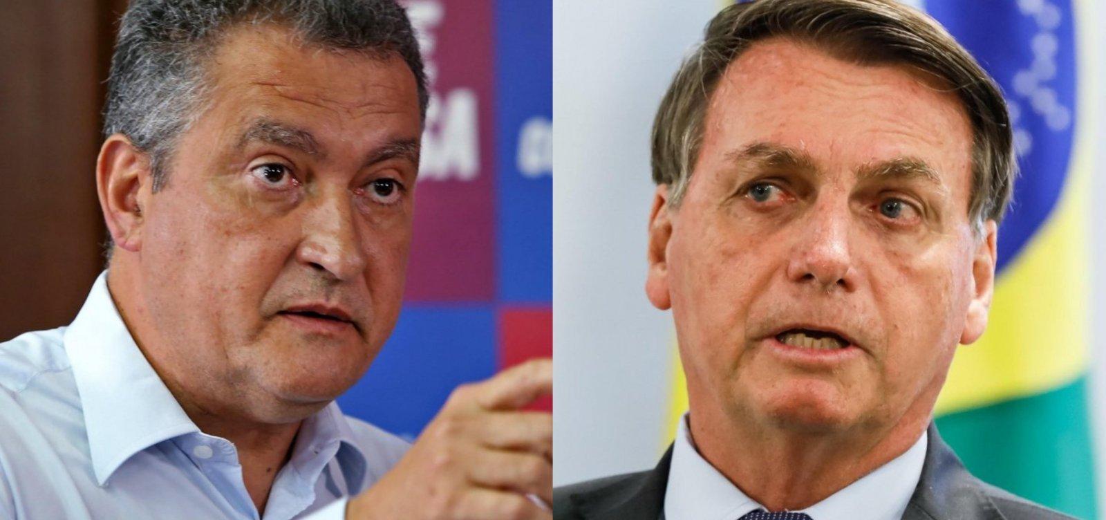 """""""Única fraude é o presidente"""", declara Rui Costa sobre ataques de Bolsonaro às urnas"""