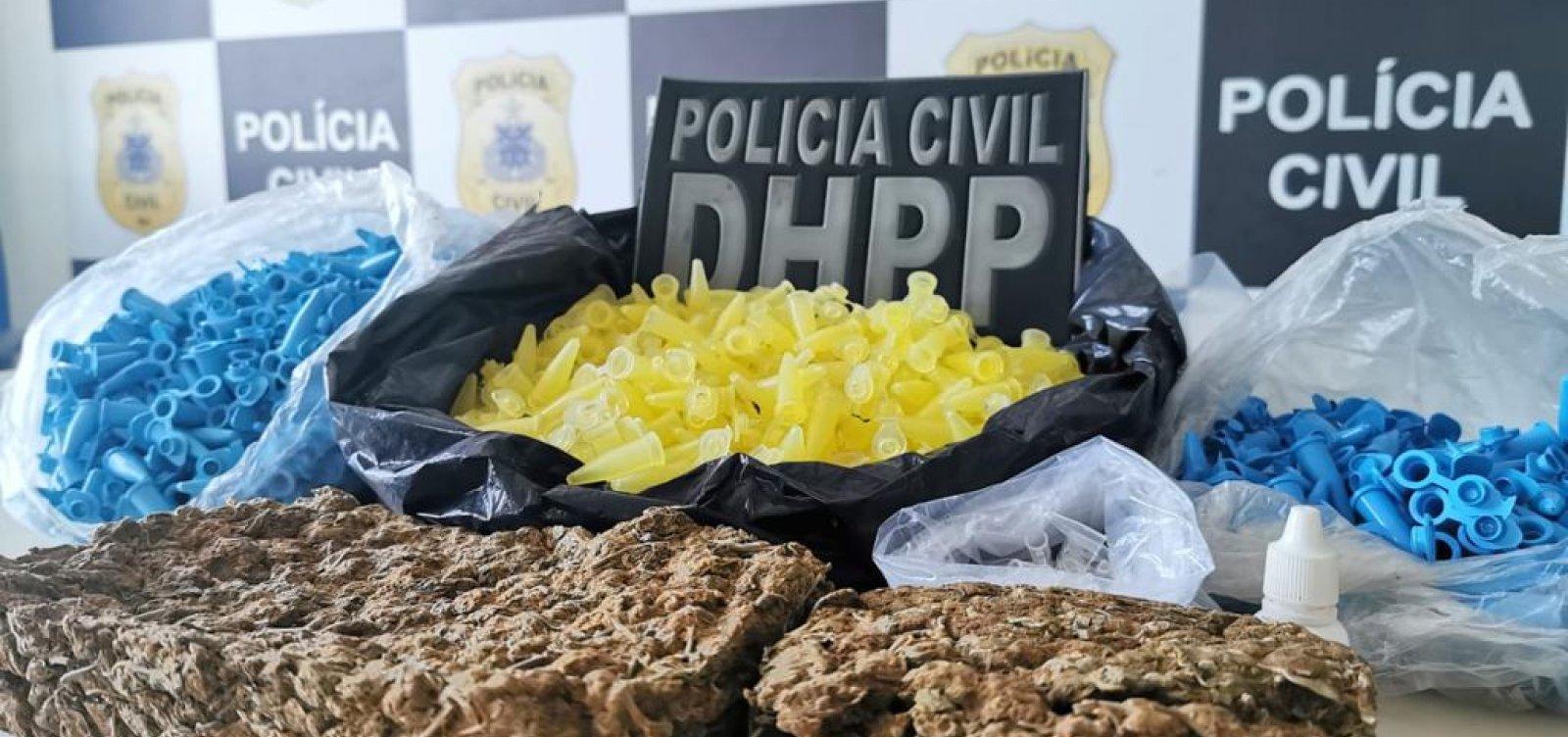 Polícia apreende 1,5 Kg de maconha avaliada em R$ 24 mil