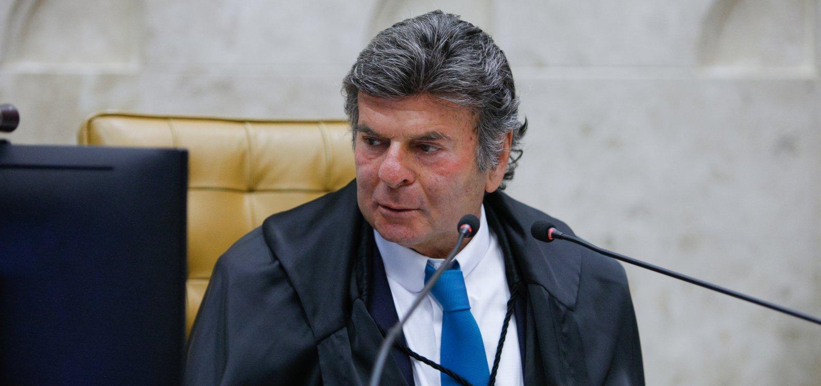 Fux cancela reunião com presidentes dos demais Poderes