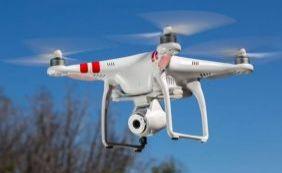 Drone é usado pela Codesal para ajudar na avaliação das áreas de risco