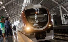 Com redução de 50% dos passageiros do metrô, governo aposta em integração