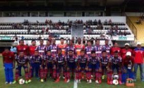 Bahia enfrenta o Araxá pela 3ª fase da Copa São Paulo de Futebol Jr.