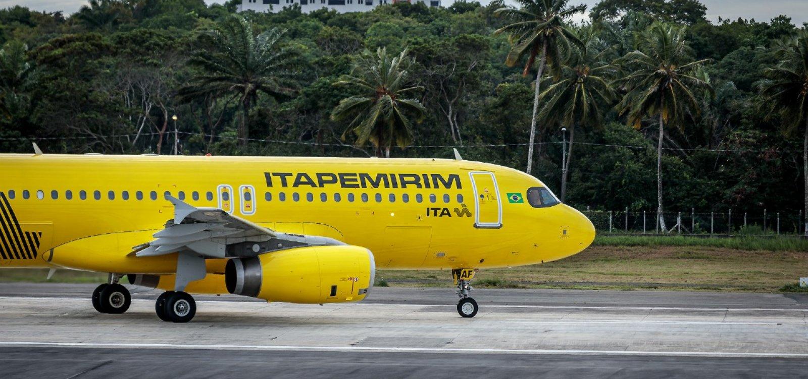 Aeroporto de Salvador recebe novos voos da ITA Transportes Aéreos
