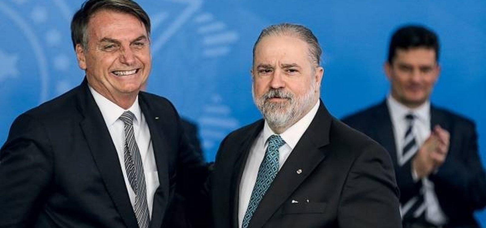 Aras nega omissão diante de ataques de Bolsonaro e diz não fazer política na PGR
