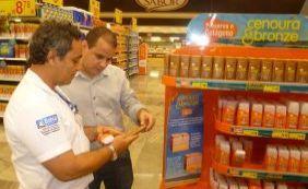 Ibametro fiscaliza produtos consumidos no Verão, como protetores e repelentes