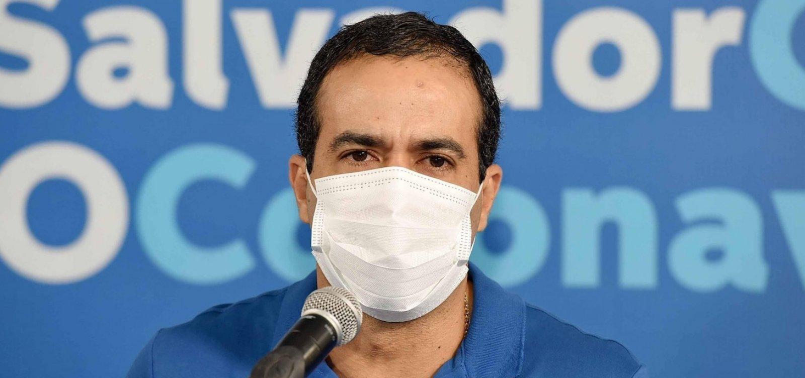 Bruno Reis diz que Réveillon e Carnaval estão sendo planejados, mas dependem da evolução da pandemia