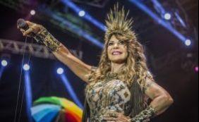 Elba Ramalho faz show gratuito em Lauro de Freitas nesta sexta-feira