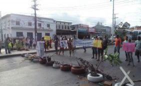 Manifestação deixa trânsito complicado em São Cristóvão