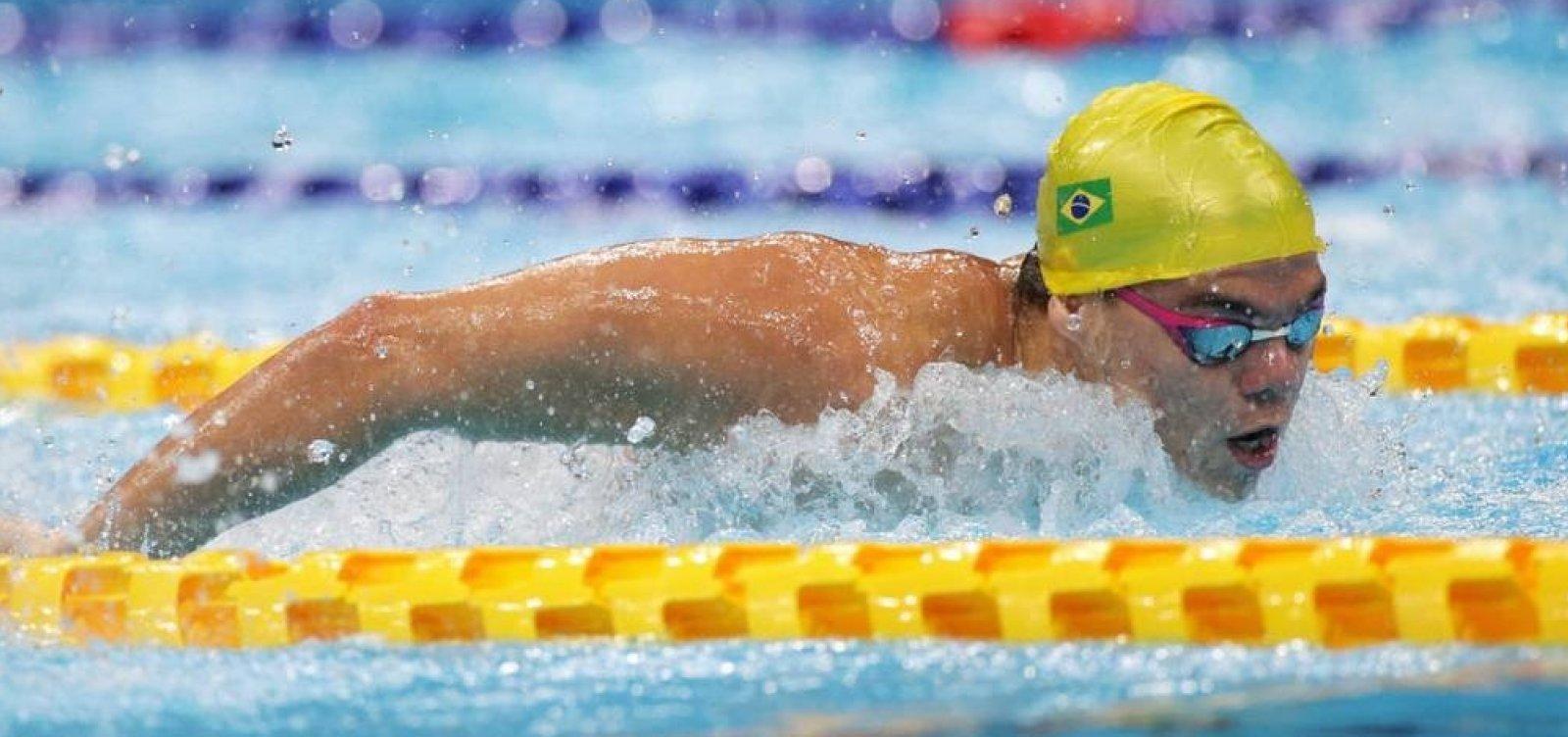 Natação garante primeiras medalhas para o Brasil nas Paralimpíadas