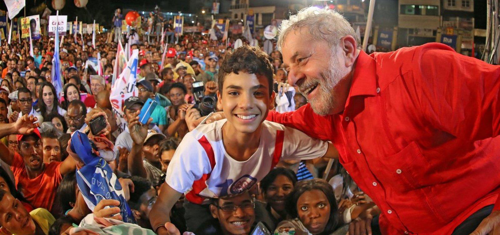 Lula desembarca em Salvador com agenda focada em palanques para 2022
