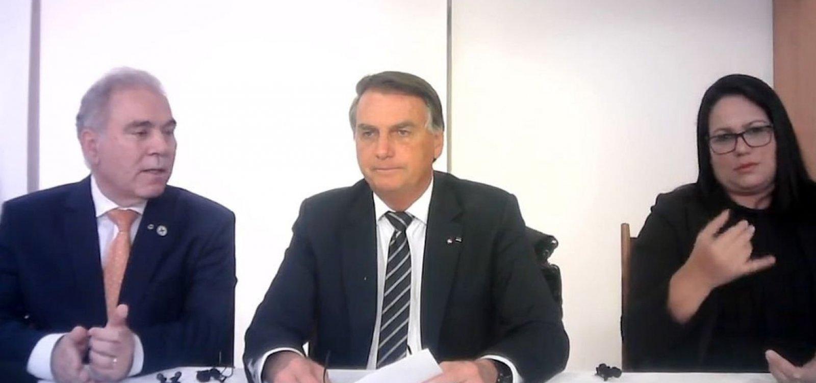 Bolsonaro admite gravidade de crise hídrica e faz apelo por economia de energia