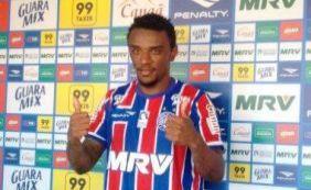 Sexto reforço do ano, volante Paulo Roberto é apresentado no Bahia