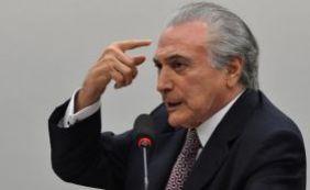 PMDB no Senado só apoia reeleição de Temer se ele renunciar após votação