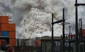 Após vazamento, nuvem tóxica atinge quatro cidades no litoral de São Paulo