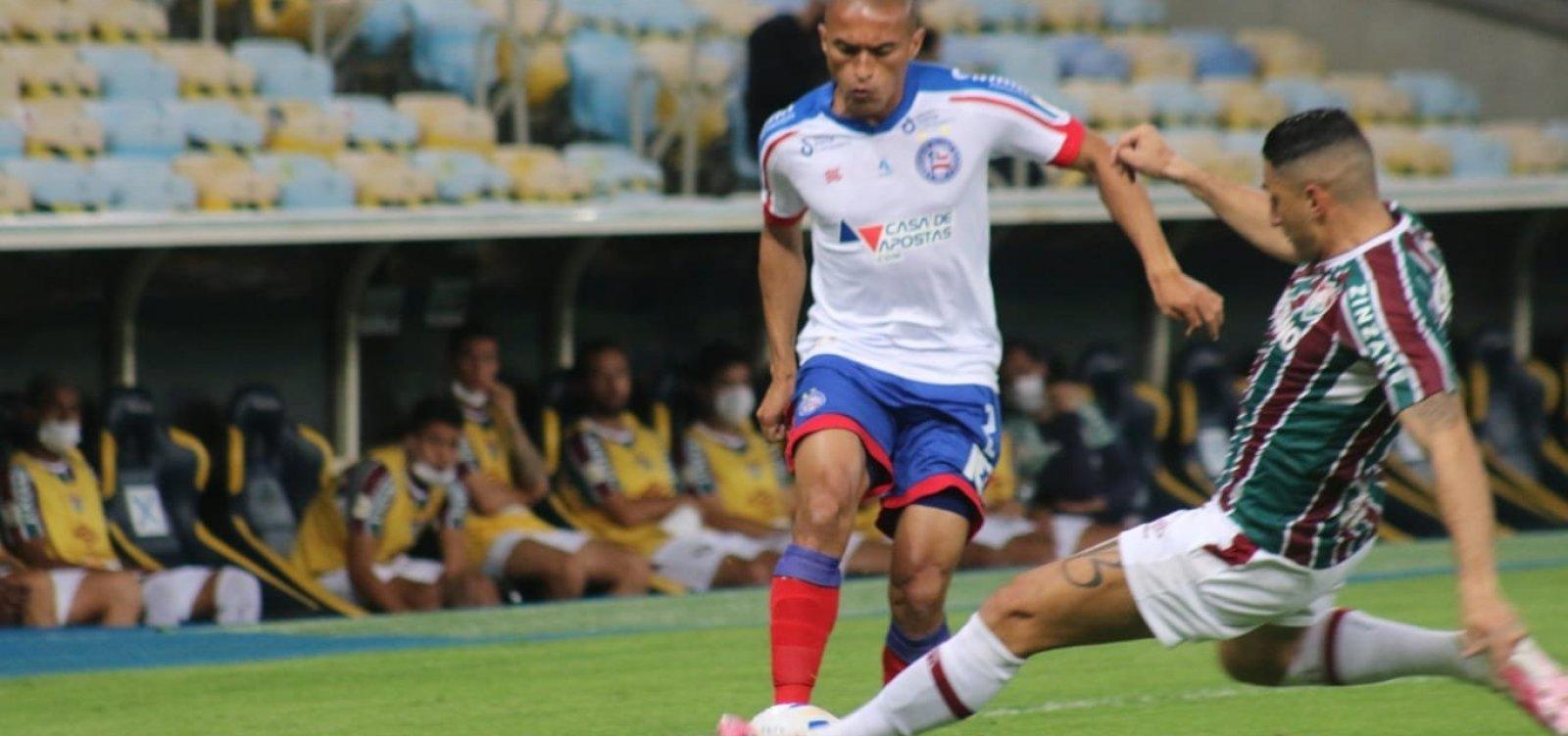 Bahia perde para o Fluminense e amarga sequência de oito jogos sem vencer