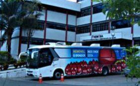Ciclitas promovem campanha para ajudar no abastecimento de sangue do Hemoba