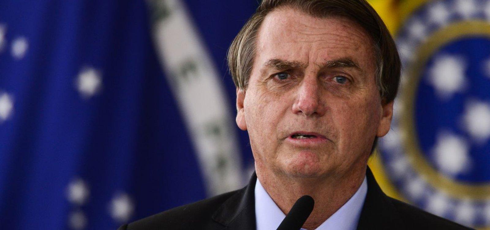 Bolsonaro espalha manifesto de federação de empresários contra o STF