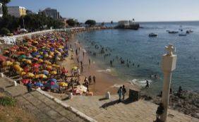 Mais de 15 praias estão impróprias para banho; Porto da Barra está na lista