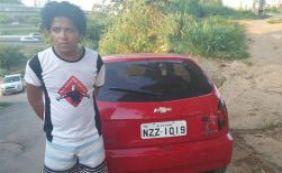 Jovem é preso em flagrante com veículo roubado em Brotas