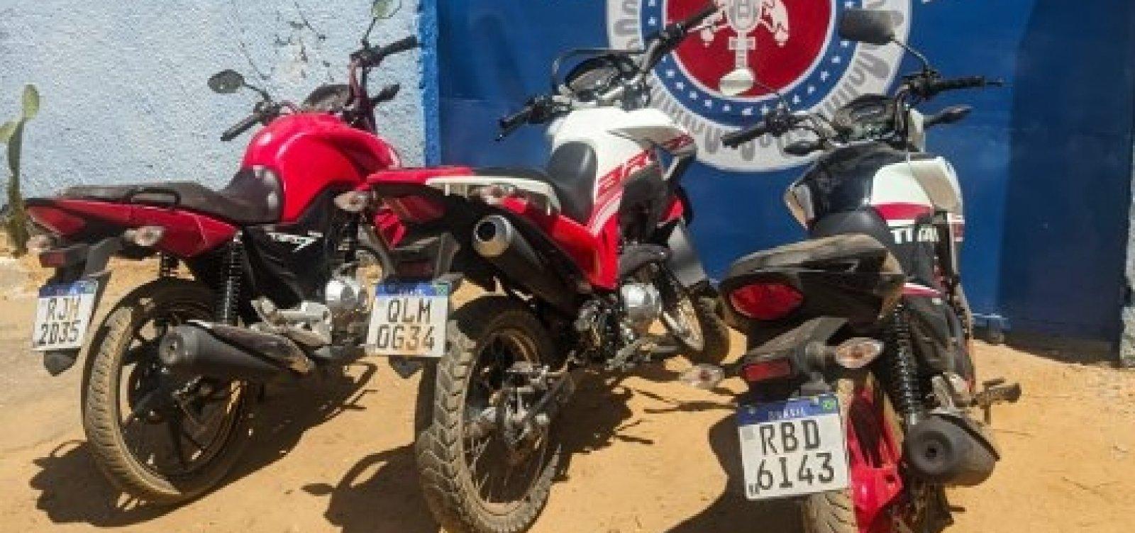 Polícia conduz à delegacia seis condutores e apreende 11 carros e motos adulterados na Bahia