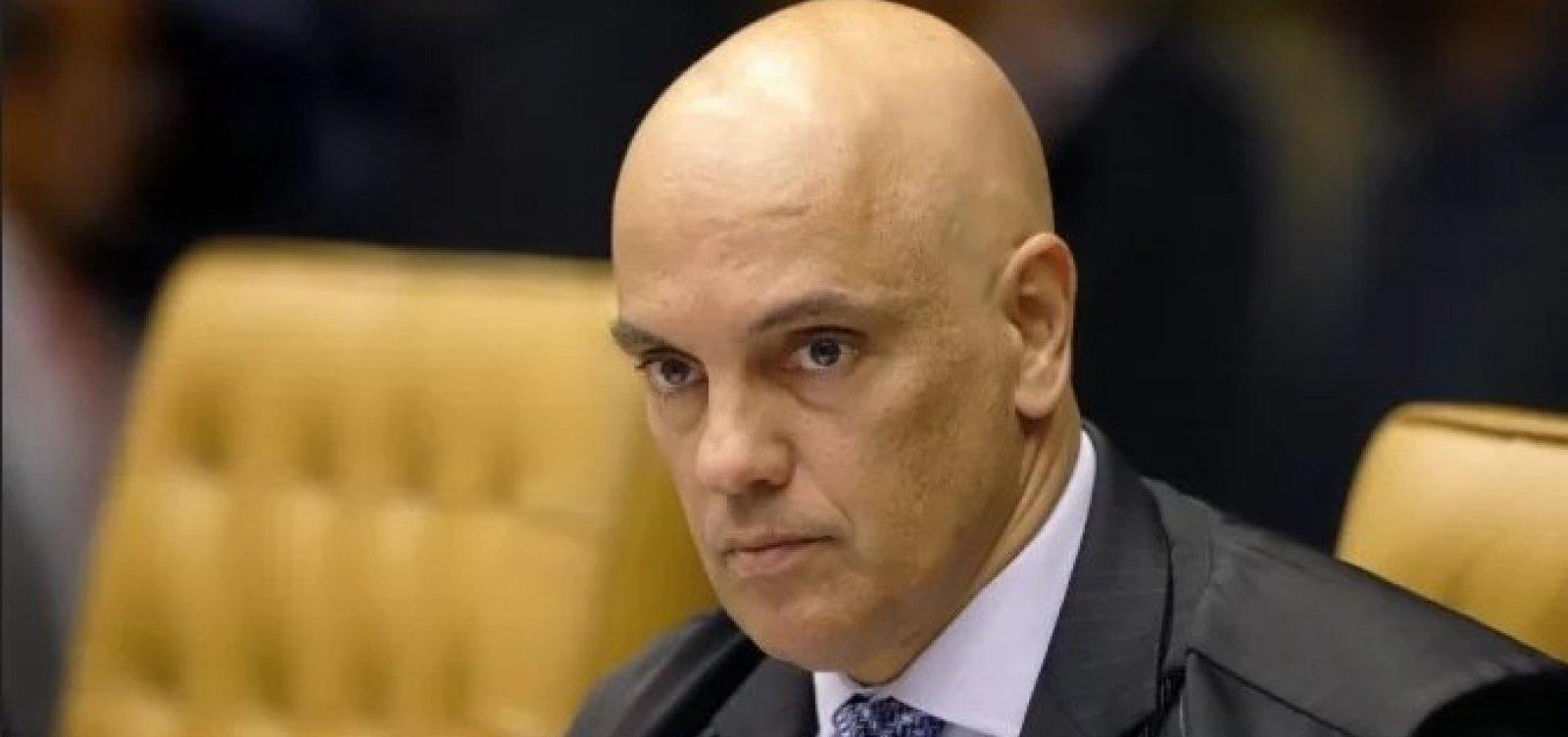 A pedido da PGR, Moraes autoriza prisões e bloqueios de contas para barrar atos antidemocráticos