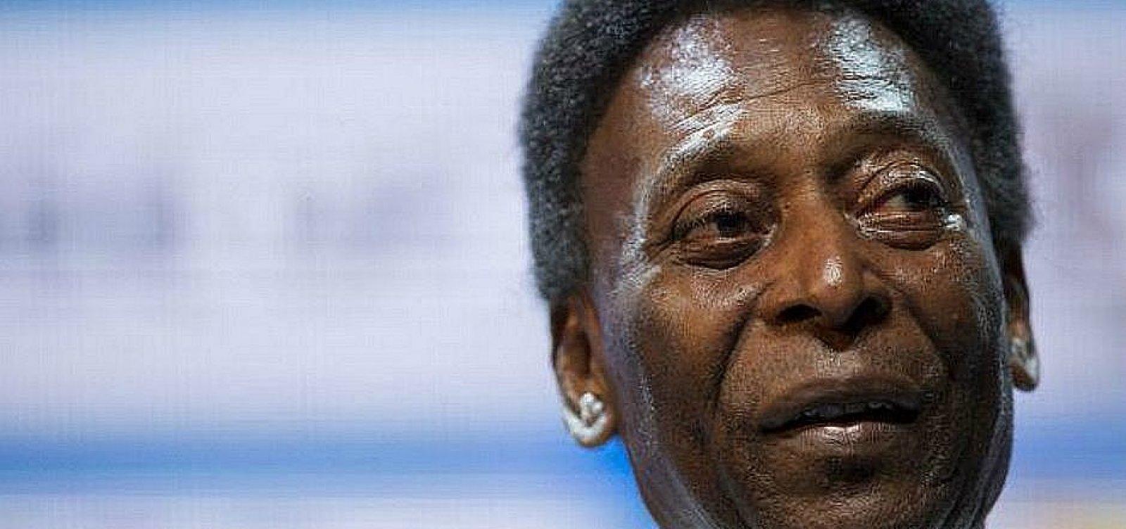 Após retirada de tumor, Pelé tem quadro estável