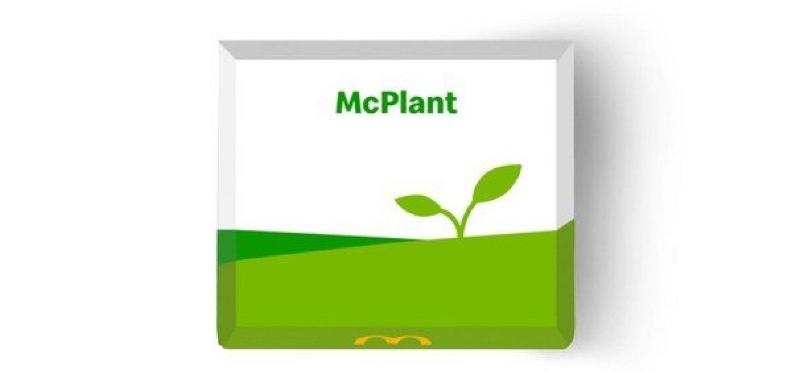 McDonald's se rende ao veganismo: rede anuncia lançamento do hambúrguer 'McPlant'