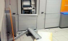 12 homens explodem agência bancária em São Felipe neste domingo