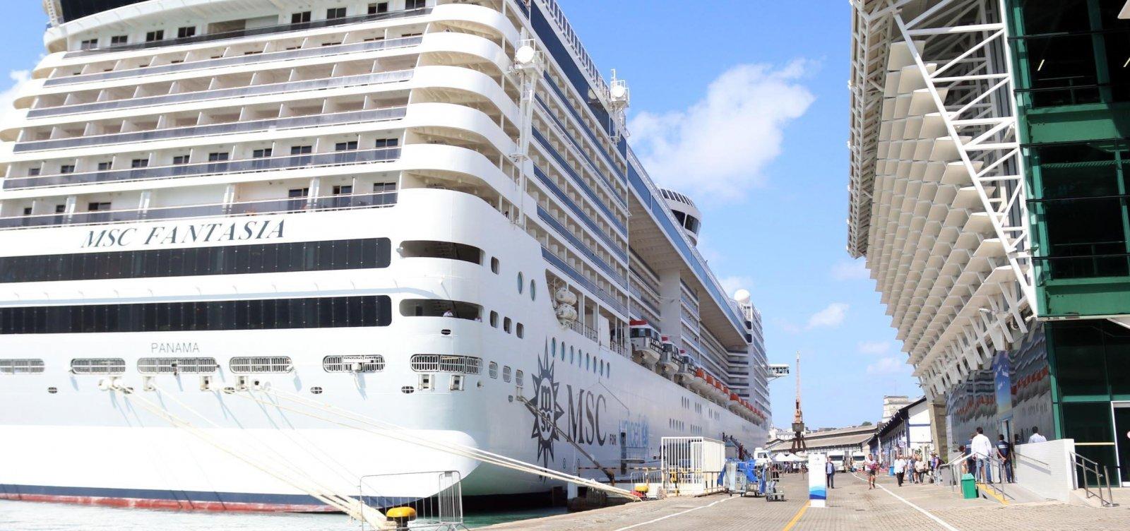 Anvisa não libera temporada de cruzeiros marítimos na costa brasileira