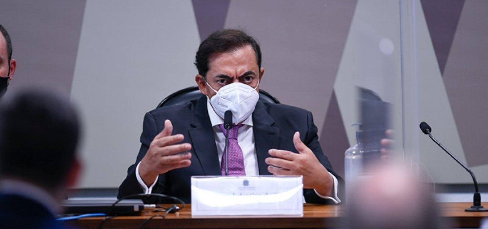 CPI vê comprovada relação de advogado amigo de Barros com garantidora da Covaxin
