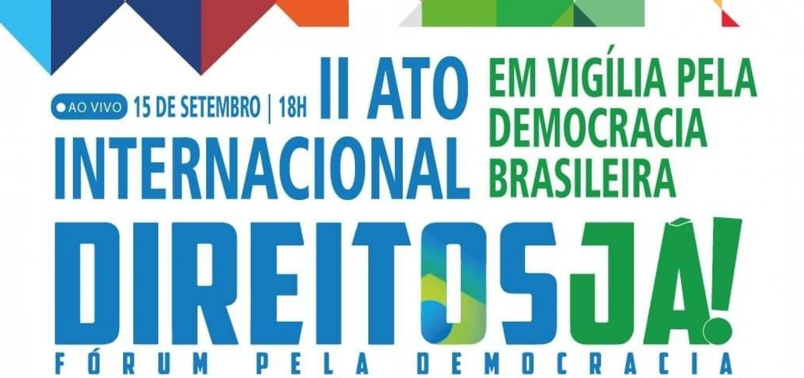 PT, DEM, PSL e outros 13 partidos se reúnem em ato no Dia Internacional da Democracia