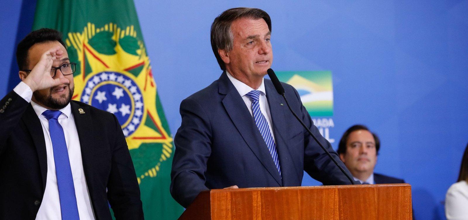 """""""Fake news faz parte da nossa vida"""", diz Bolsonaro"""